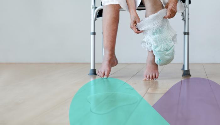 Qué es y cómo se previene la dermatitis asociada a la incontinencia