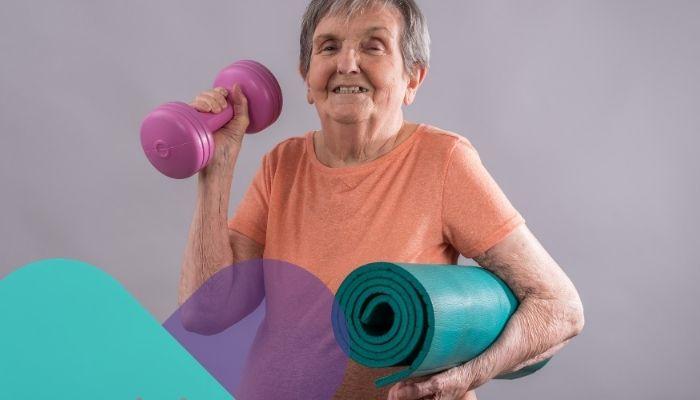 Los 5 ejercicios físicos indispensables para reforzar el cuerpo de un adulto mayor